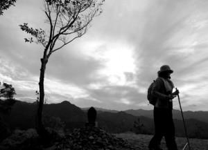 古道の旅人